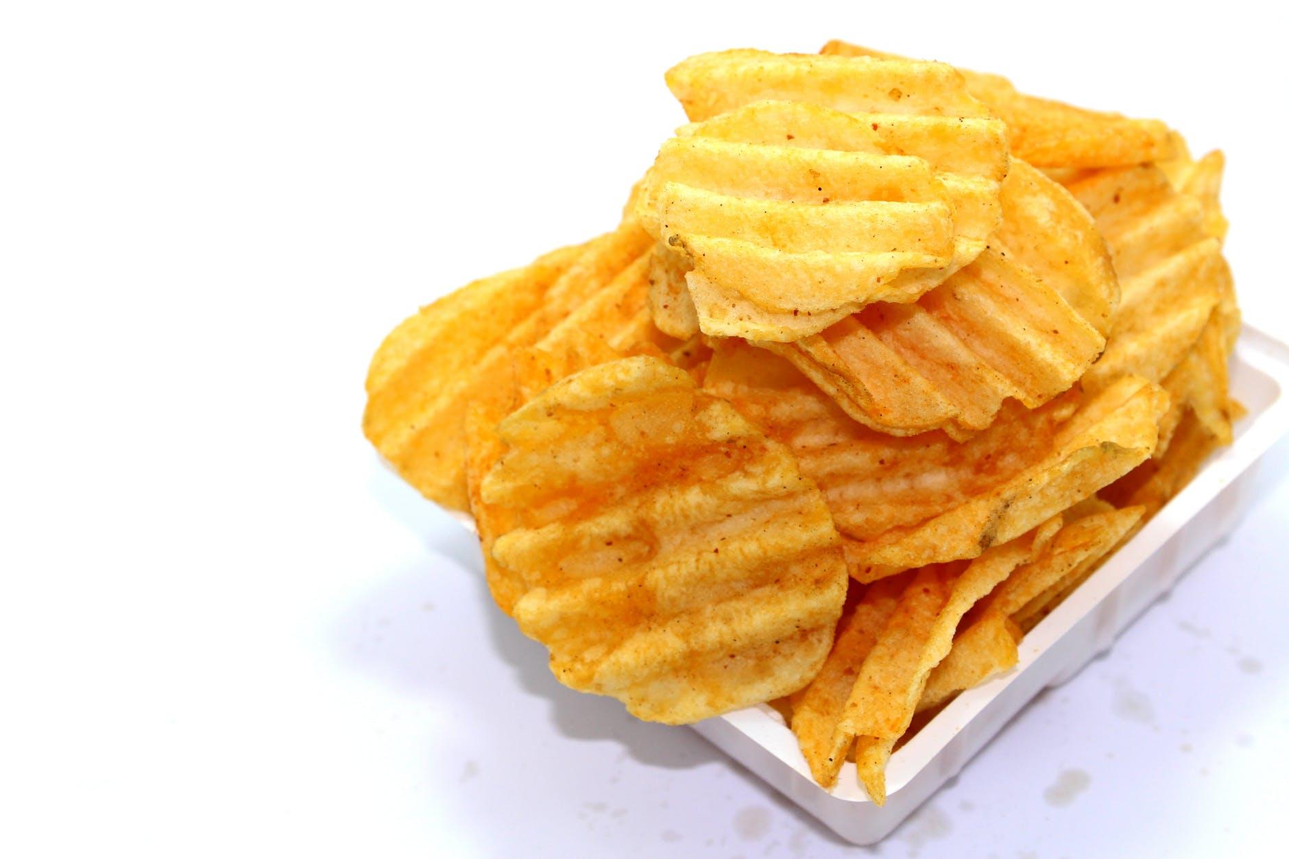 chips crisp crispy crunchy